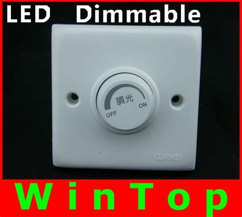 Led Strip Adjustable Brightness Controller Led Light Dimmer Switch For Led Light Bulbs