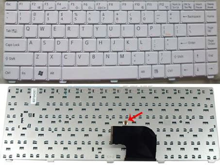 Keyboard Sony Vaio C Series White 4beo3t various sony keyboards original brand new sony laptop keyboard