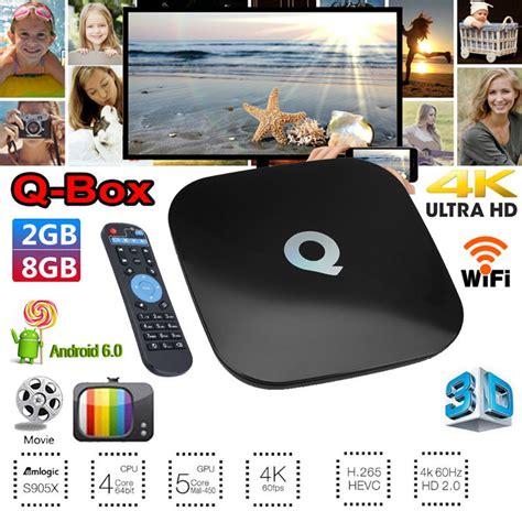 Ic Wifi 339s0241 Air 2 6 4g Kd 001784 qbox 8gb 2gb 4k uhd wifi kd 17 3 android 6 0 smart tv box