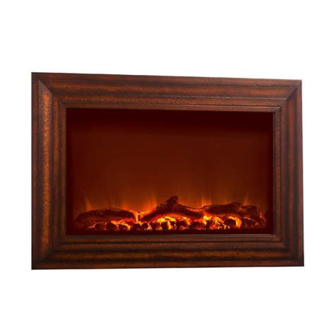 hanging electric fireplace picture frame wall mount space