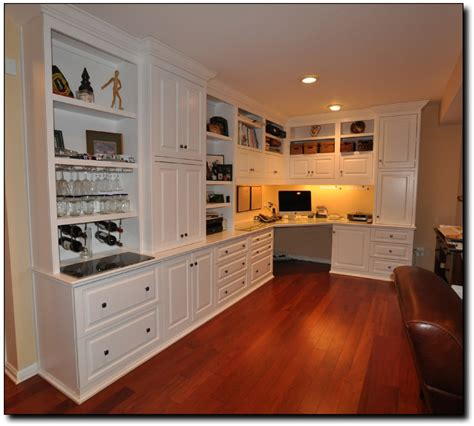Corner Desk Built In Office Built In Desk Designs Built In Cabinets 1089x979 Home Office Desk And Bookcases In