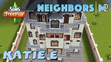 design clothes neighbor sims freeplay sims freeplay katie e s house neighbor s original house