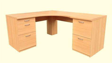 Large Corner Desks Large Corner Desk Office Workstation 3 Drawer Pedestal And 2 Drawer Pedestal Option 12