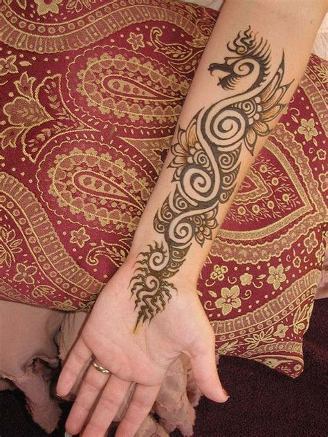 how henna tattoos work 14 best images about henna dragons on