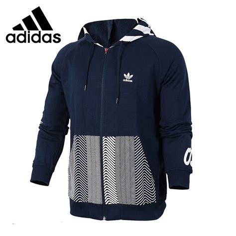 Jaket Typich Hodie Original original new arrival 2017 adidas originals hoody ny logo s jacket hooded sportswear in