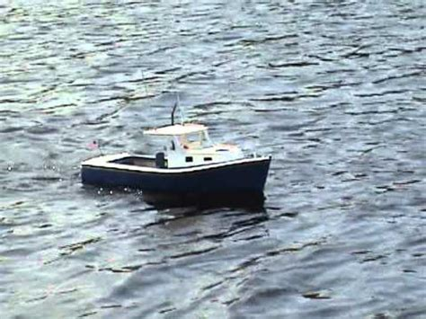 lobster boat videos rc lobster boat youtube