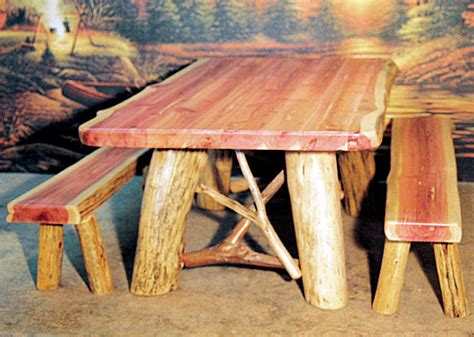 log dining room tables cedar point log dining room table the log