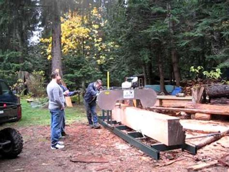 backyard sawmill backyard band sawmill iii youtube