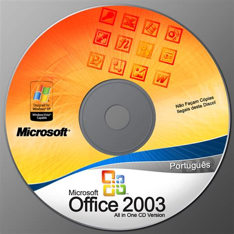 Microsoft Office 2003 Original microsoft office 2003 cd psd by v1t0rsouz4 on deviantart