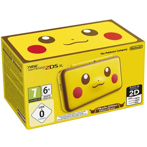 2ds console nintendo new 2ds xl pikachu limited edition console