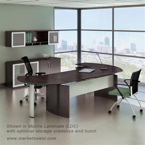 left handed l shaped desk medina series 63 quot executive l shaped desk suite 8 left