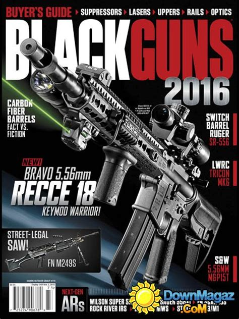 black guns usa    magazines magazines