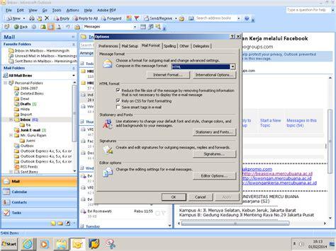 cara membuat email outlook 2007 cara mengganti background outlook 2007 recognize