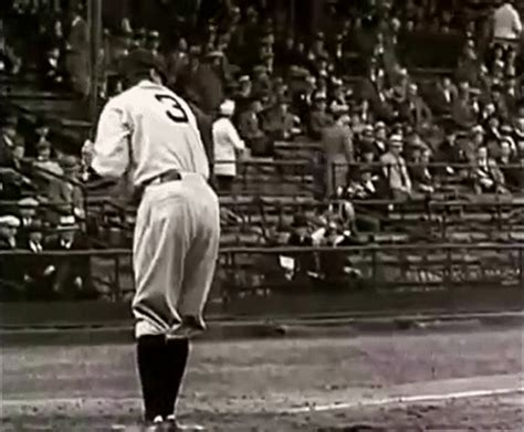 babe ruth swing babe ruth swings his bat and his manhood gif total pro