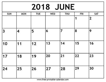 june  calendar   calendar printable