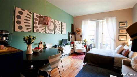studio apartment decorating on a budget