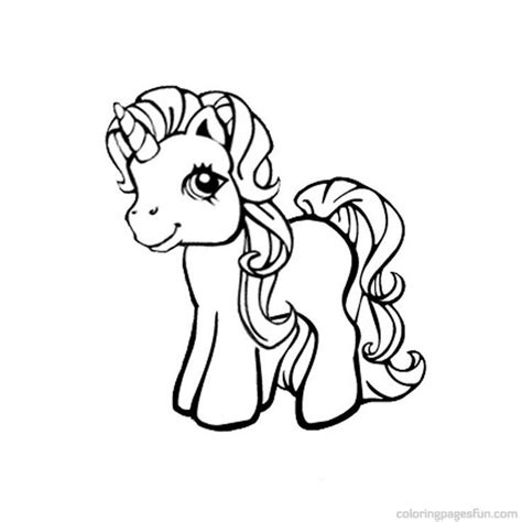 pony unicorn coloring pages coloring pages
