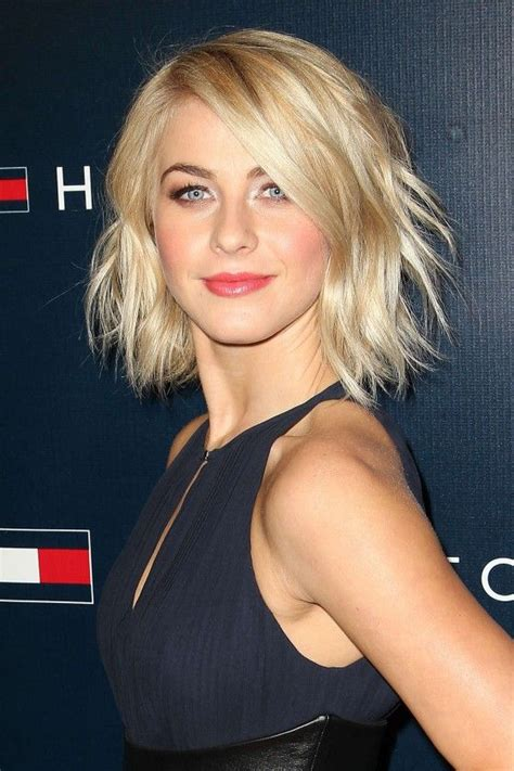 juliannehough curly bob shaggy bob on julianne hough cool hair pinterest