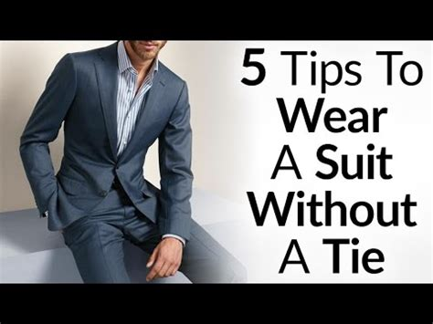 5 Things Would You Wear These by Wear A Suit Without A Tie And Look Great 5 Things To