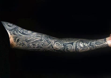 tattoo 3d wood 50 wood carving tattoo designs for men masculine ink ideas