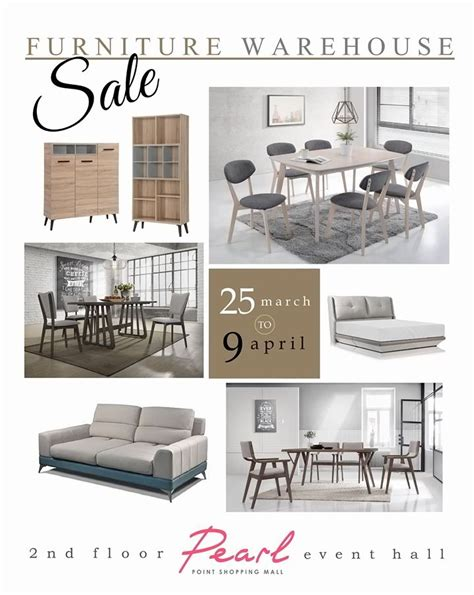 pearl point shopping mall furniture warehouse sale
