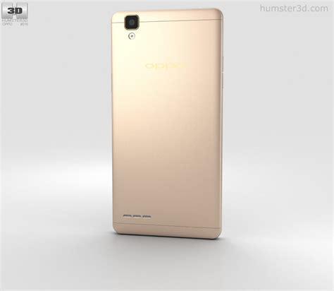 3d Oppo F1 oppo f1 gold 3d model humster3d