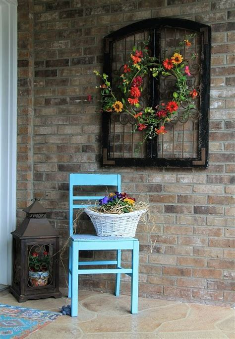 best 25 outdoor wall decorations ideas on
