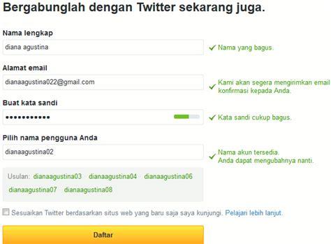 cara membuat akun twitter tanpa email cara membuat twitter daftar akun twitter tanpa no
