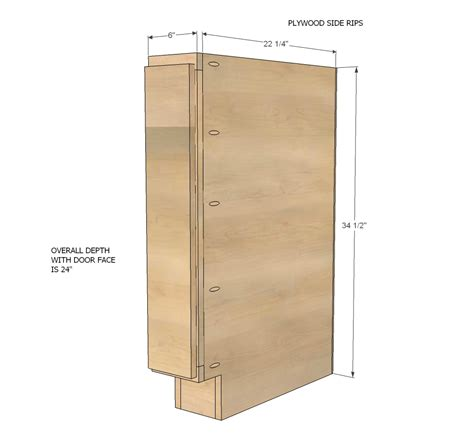 6 Inch Base Cabinet For Kitchen White Build A 6 Quot