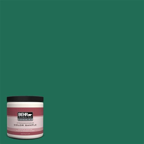 behr premium plus ultra 8 oz p430 7 sparkling emerald
