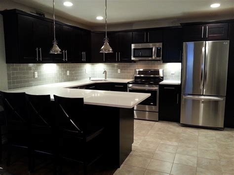 kitchen remodel category for delightful modern black white