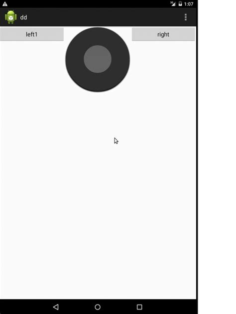layout center in parent android android how to draw a cirle in center in android