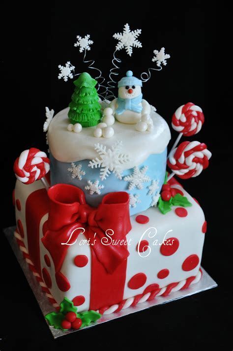 happy birthday christmas cakes cake lori hynes flickr