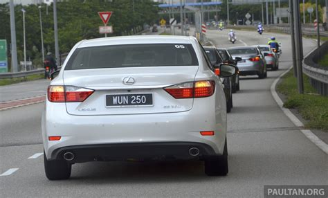 lexus es 250 2013 malaysian review 2013 lexus es250 and es300h sled