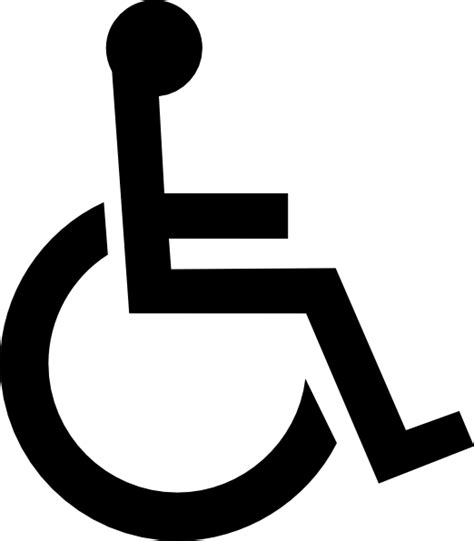 wheelchair symbol clip at clker vector clip