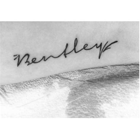 baby name tattoo quotes my baby boys name tattoo bentley tattoos pinterest