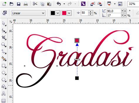 membuat warna coklat dengan curan warna membuat warna gradasi pada coreldraw belajar desain grafis