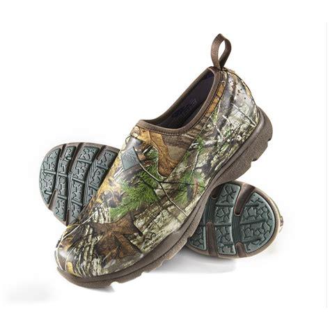 s muck excursion pro low camo shoes 611983 rubber