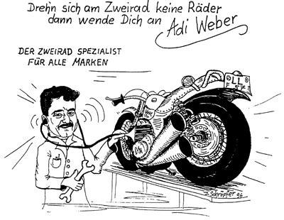 werkstatt comic werkstatt adi weber mammendorf f 252 r kfz und motorrad in