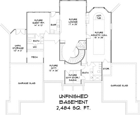 1300 sq ft floor plans european house plan 106 1300 4 bedrm 4504 sq ft home