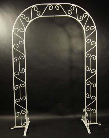 Wedding Arch Rental Vancouver Wa by Arch White Iron Rentals Portland Or Where To Rent