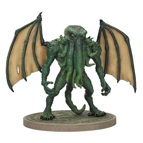 p figure 7 cthulhu h p lovecraft 7 inch figure with display