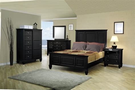 Sandy Beach Black Bedroom Furniture Set Coaster Free Bedroom Furniture In Black