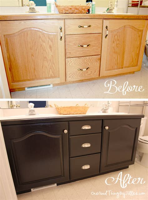 staining bathroom cabinets darker 20 insanely clever diy home projects for your home high