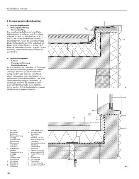 Balkonaufbau Mit Dämmung by Flachdach Begehbar Aufbau Flachdach Begehbar Labelemmaus