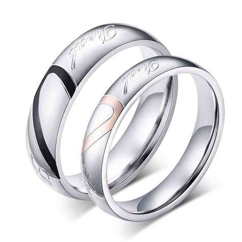 cheap his and wedding ring sets wedding and bridal