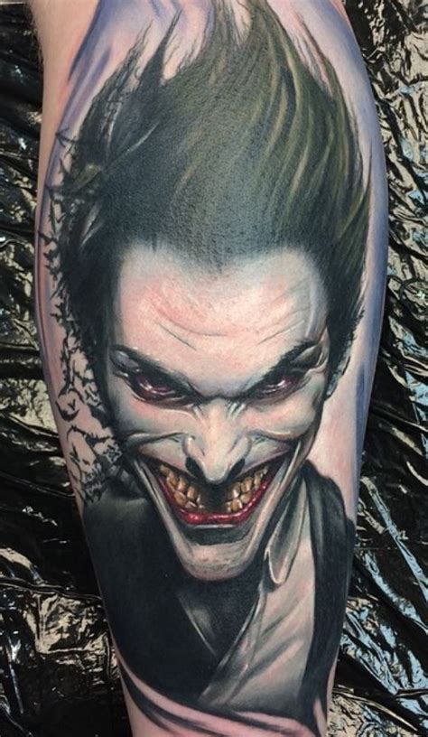 black and grey joker tattoo splendiferous joker tattoo inkstylemag