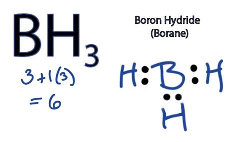 boron lewis diagram bh3 lewis structure how to draw the lewis structure for