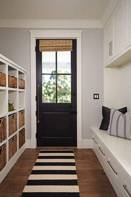 small black hallway door connecting