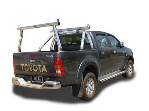 Toyota Hilux Rear Ladder Rack by Ozrax Australia Wide Ute Gear Ute Accessories Ladder